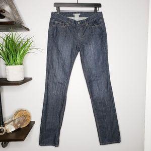 Ann Taylor Modern Fit Straight Leg Jeans- Size 4